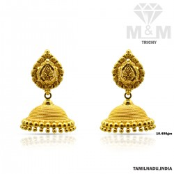 Classical Gold Fancy Earring