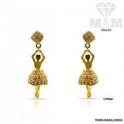 Archetypal Gold Fancy Earring