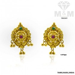 Hallowed Gold Fancy Earring