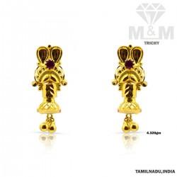Indelible Gold Fancy Earring