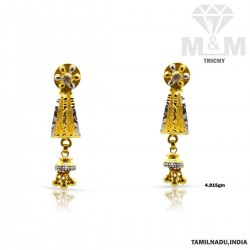 Peerless Gold Fancy Earring