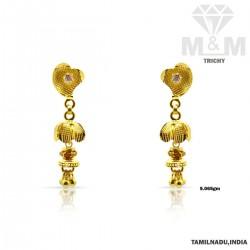Flawless Gold Fancy Earring