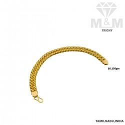 Majestic Gold Fancy Bracelet