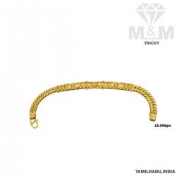 Sparkling Gold Fancy Bracelet