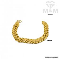 Luxuriant Gold Fancy Bracelet