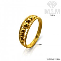Beguiling Gold Fancy Ring