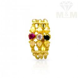 Festivity Gold Fancy Ring