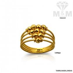 Vivacious Gold Fancy Ring