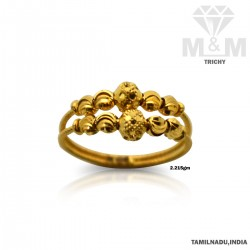Fortunate Gold Fancy Ring