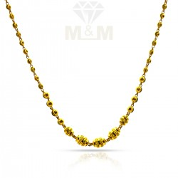 Scintillating Gold Fancy Chain