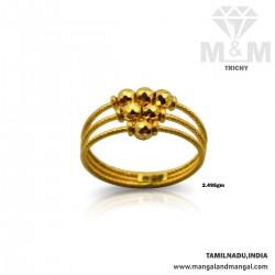 Sculpture Gold Fancy Ring