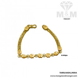 Miraculous Gold Fancy Bracelet