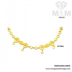 Personable Gold Fancy Bracelet