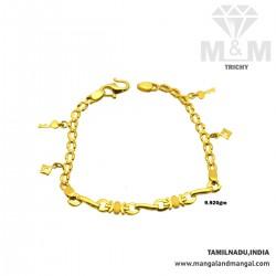 Pleasing Gold Fancy Bracelet