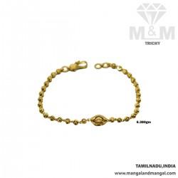 Stupendous Gold Fancy Bracelet
