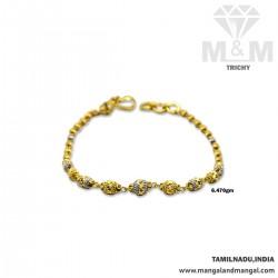 Terrific Gold Fancy Bracelet