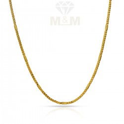 Mannerly Gold Fancy Chain