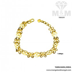 Elegance Gold Fancy Bracelet