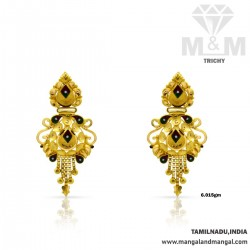 Captivating Gold Fancy Earring