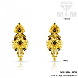 Tranquil Gold Fancy Earring