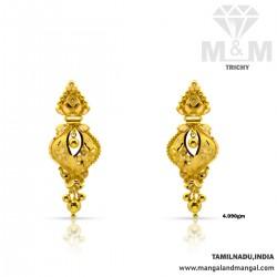 Delicious Gold Fancy Earring