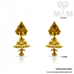 Excellence  Gold Fancy Earring
