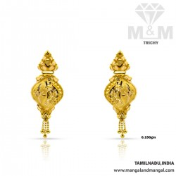 Perfection Gold Fancy Earring