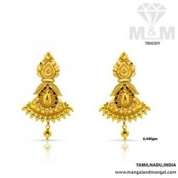 Popular Gold Fancy Earring