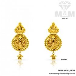Historical Gold Fancy Earring