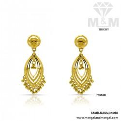Embellish Gold Fancy Earring