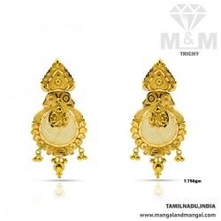 Fantastic Gold Fancy Earring