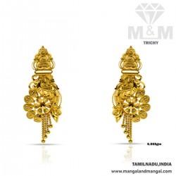 Favourable Gold Fancy Earring