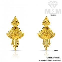 Incredible Gold Fancy Earring