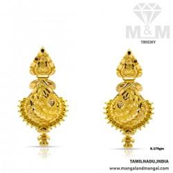 Magical Gold Fancy Earring