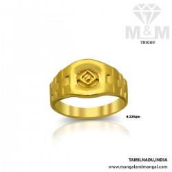 Benzaiten Gold Casting Ring