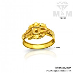 Charming Gold Fancy Ring