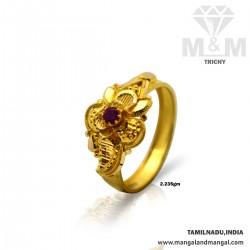 Enchanting Gold Fancy Ring