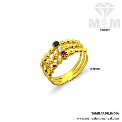 Exciting Gold Fancy Ring