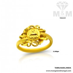 Haunting Gold Fancy Ring