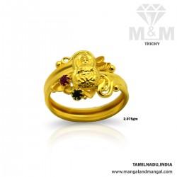 Interesting Gold Fancy Ring