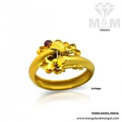 Oddly Gold Fancy Ring