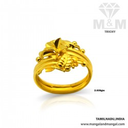 Picturesque Gold Fancy Ring
