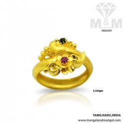 Pleasing Gold Fancy Ring