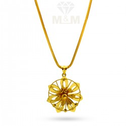 Nifty Gold Fancy Dollar Chain
