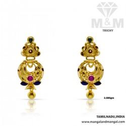 Fame Gold Fancy Earring