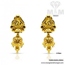 Exquiste Gold Fancy Earring