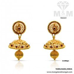 Embellish Gold Antique Earring