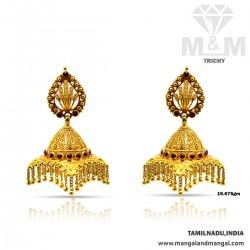 Marvelous Gold Antique Earring