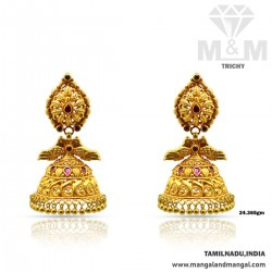 Virtuous Gold Antique Earring