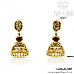 Lambent Gold Antique Laxmi...